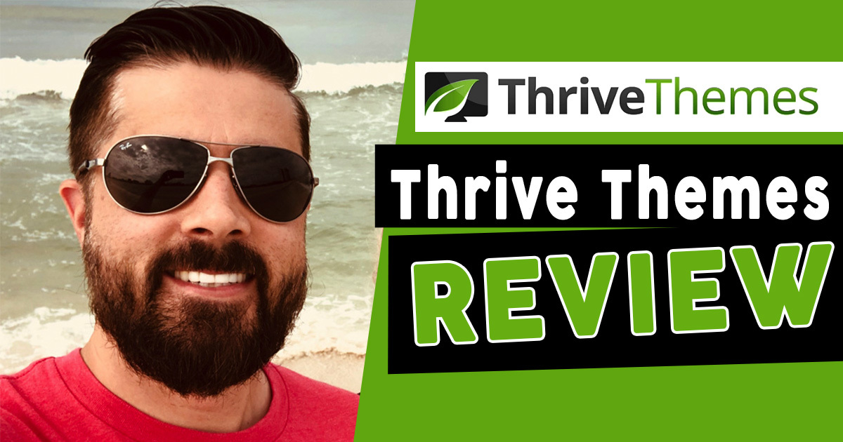 Thrive Themes  WordPress Themes Youtube Review